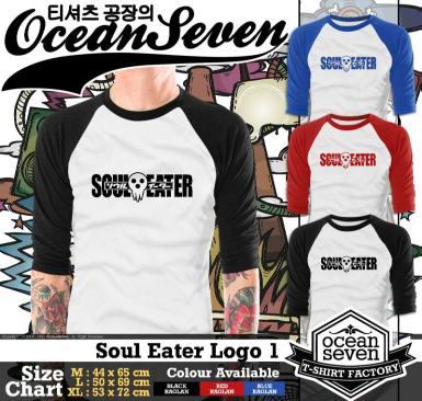 Soul Eater Logo 1 - Raglan